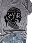 Speak Your Mind Even If Your Voice Shakes Tee