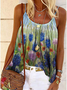 Plus size Bluebonnet Printed Boho Shirts & Tops