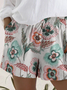 Shift Floral Boho Shorts