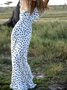 Party V Neck Sleeveless Elegant Maxi Dress
