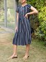 Midi Dresses Daily Casual Dress