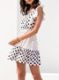 Ruffled Short Sleeve Sweet Dress